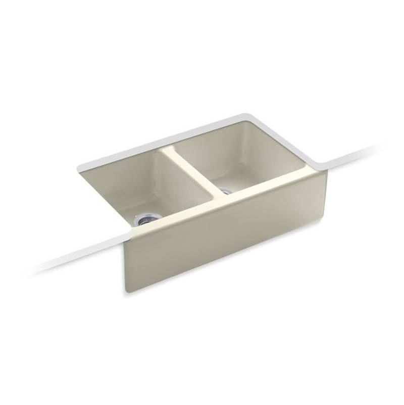 Kohler 6534-4U-FD at Heatwave Supply Farmhouse Kitchen Sinks